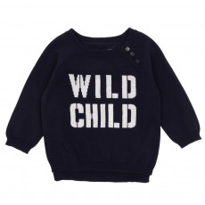 Pull Wild Child Bleu marine