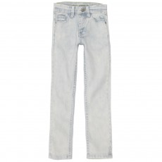 Jean Slim Denim bleached