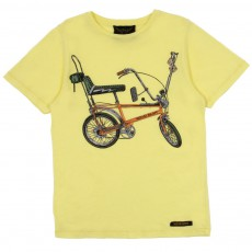 T-shirt Bike Jaune