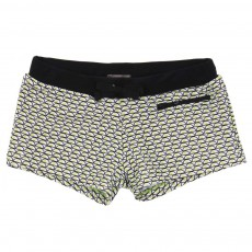 Short De Bain Atlantic Jaune