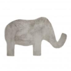 Tapis éléphant - Gris clair