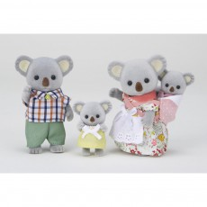 Famille Koala Gris