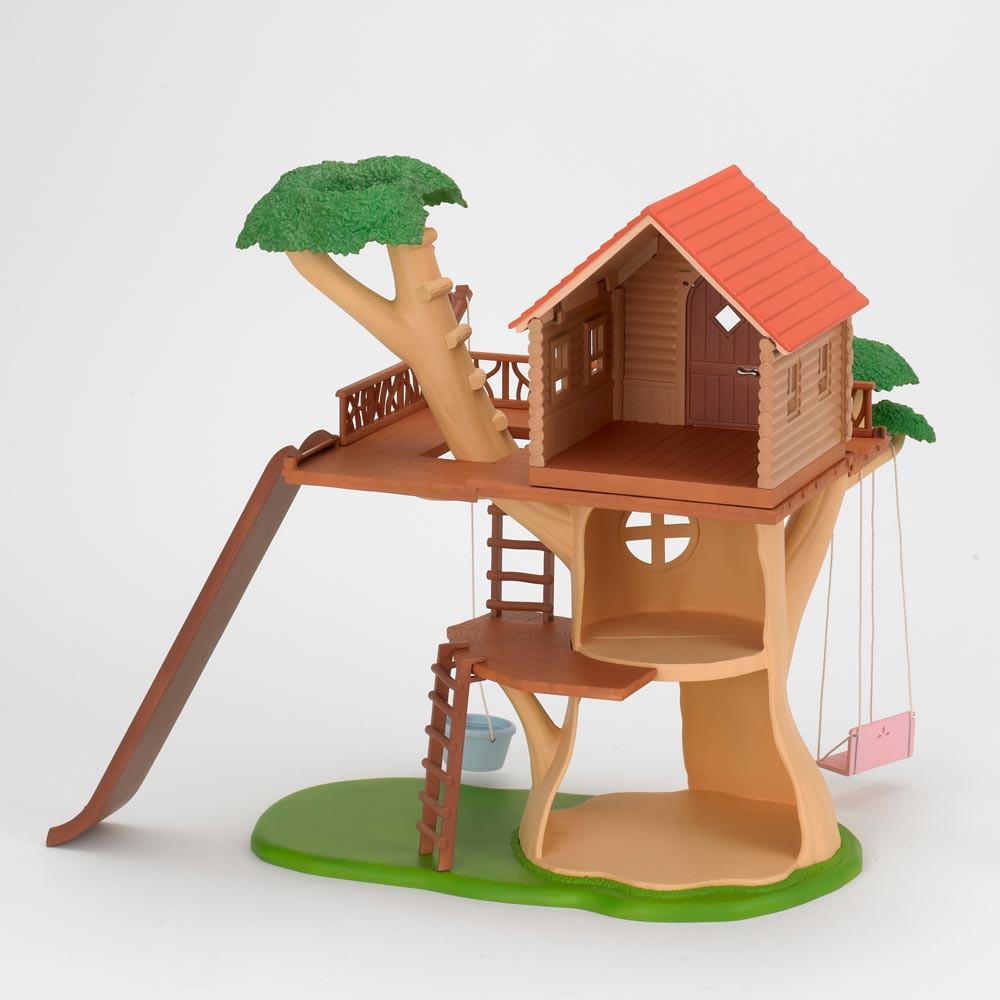 cabane dans les arbres sylvanian jeux jouets loisirs enfant smallable. Black Bedroom Furniture Sets. Home Design Ideas