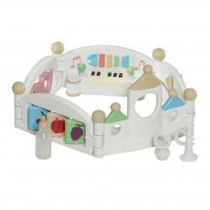 Parc à jouer pour bébé Multicolore