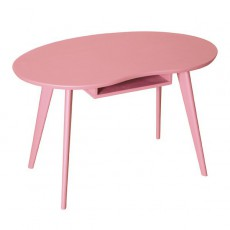 Table Haricot - Vieux rose