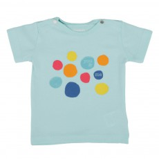T-Shirt You & Me Bleu ciel