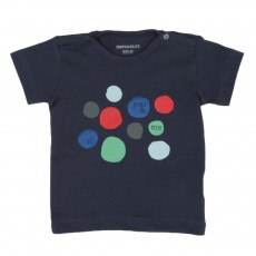 T-Shirt You & Me Bleu indigo