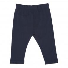 Pantalon Jersey Bleu indigo
