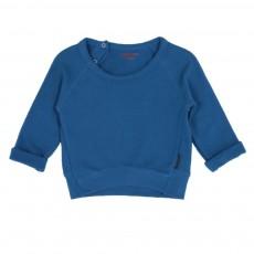 Sweat coton bio Bébé Bleu marine