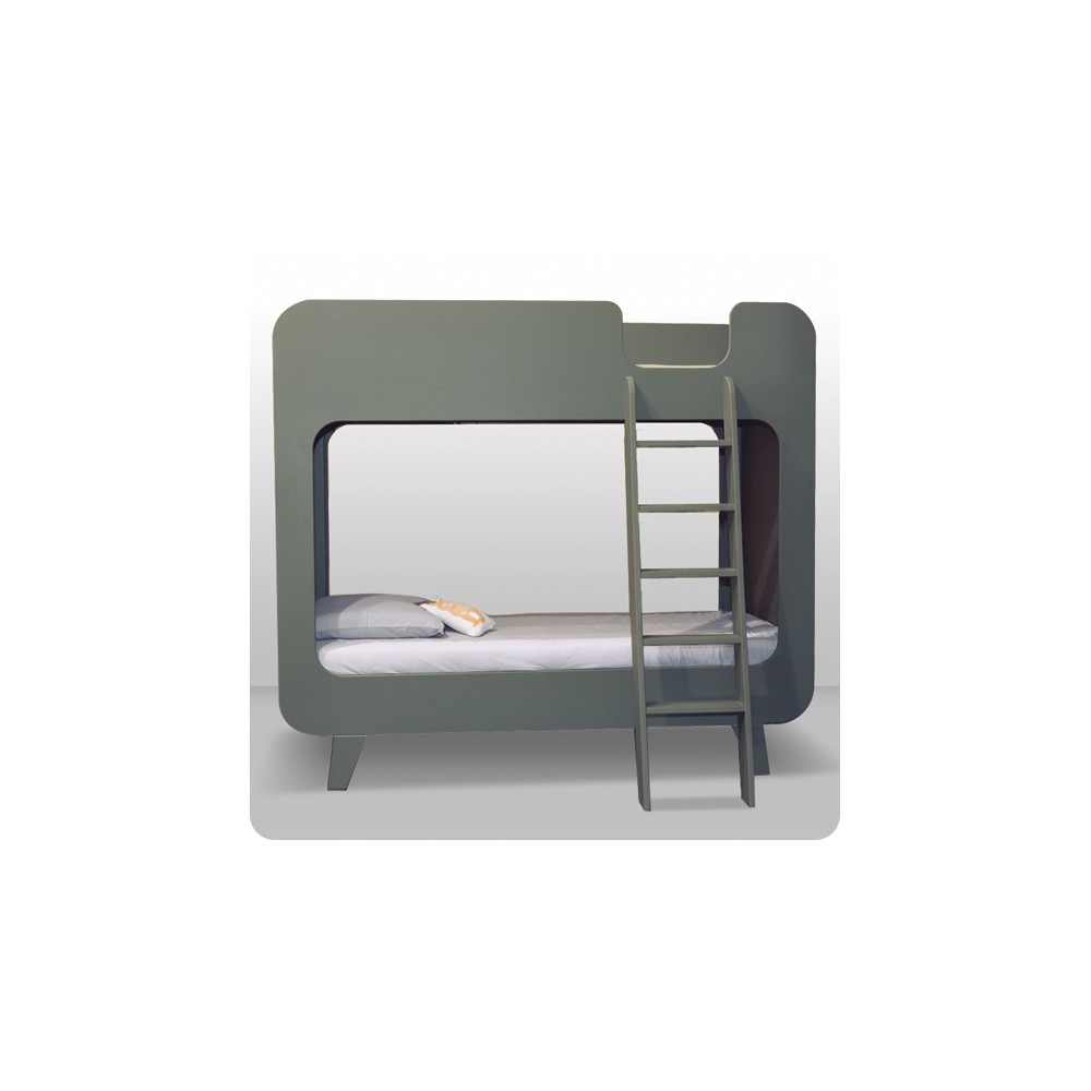 Lit superpos on pinterest lit mezzanine bunk bed and kids rooms - Lit superpose toboggan ...