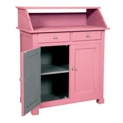 buffet surprise vieux rose gris fonc laurette mobilier smallable. Black Bedroom Furniture Sets. Home Design Ideas
