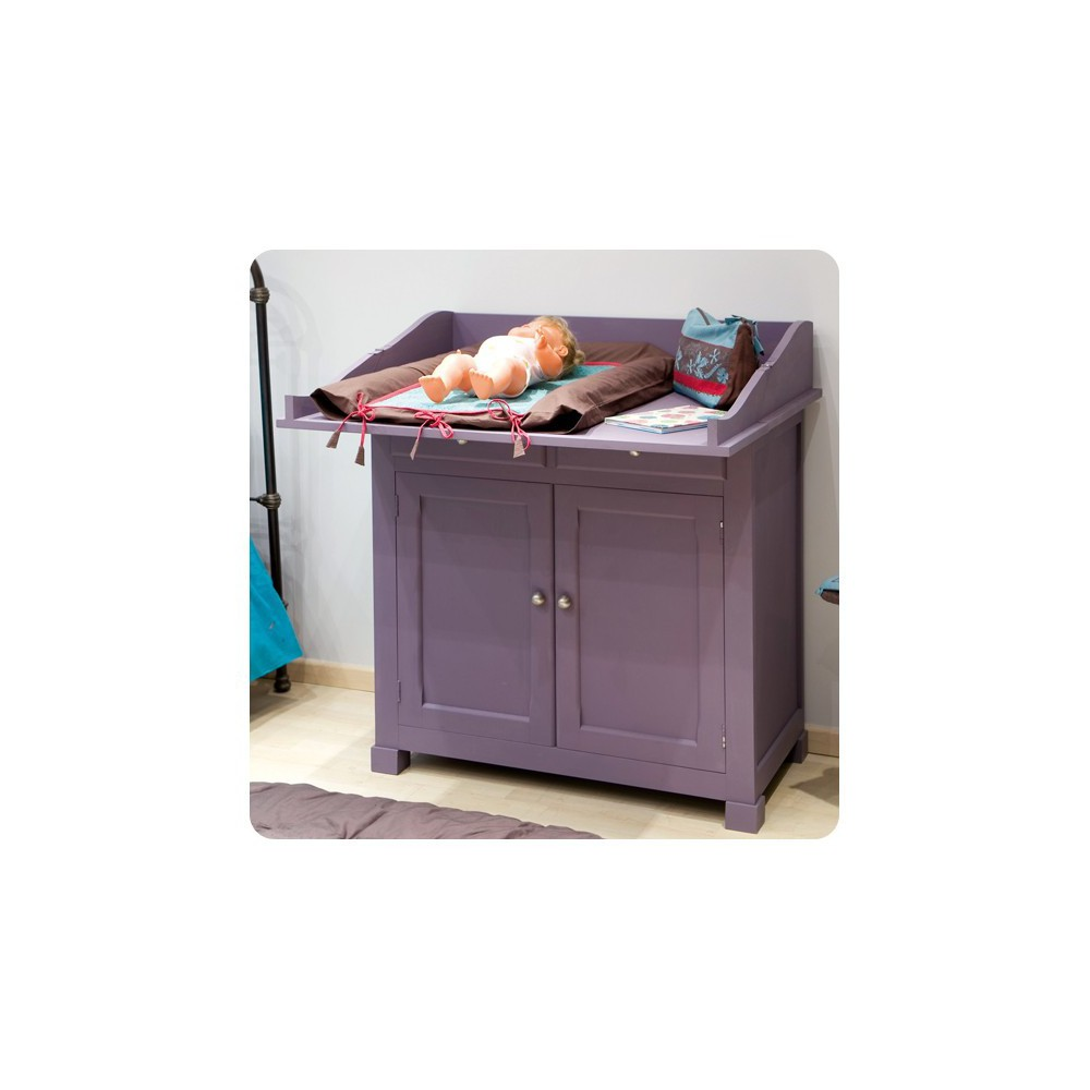 Commode  Mobilier  Smallable # Buffet Violet