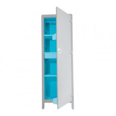 Armoire Culte - Gris clair/Turquoise
