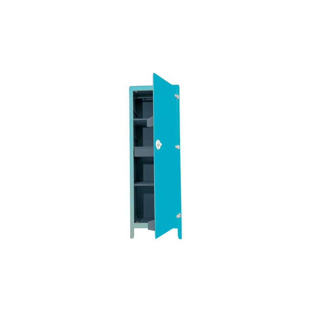 Armoire mobilier smallable for Bleu turquoise fonce