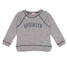 Sweat Brooklyn Bleu ciel