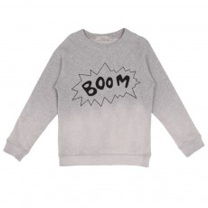 Sweat Billy Boom Dégradé Gris chiné