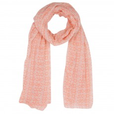 Foulard Tour Eiffel Orange