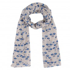 Foulard Flamant Rose