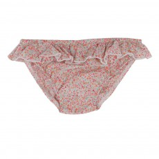 Culotte Liberty Volants Rose