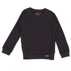 Sweat coton bio Noir