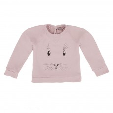 Sweat Lapin Bébé Rose pâle