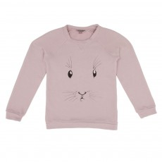 Sweat Lapin Rose pâle