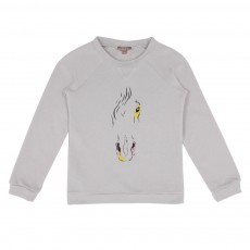Sweat Cheval Gris souris