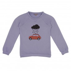Sweat Fiat Nuage Parme