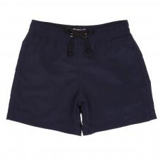 Short De Bain Bleu marine