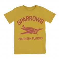 T-shirt Sparrows Ocre
