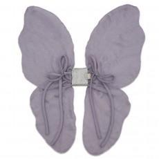 Ailes de papillon parme