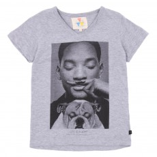 T-shirt Will Gris chiné