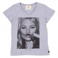 T-shirt Kate Gris chiné