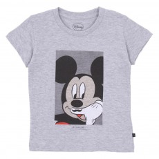 T-shirt Mickey Gris