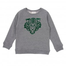 Sweat Tigre Gris chiné