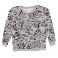 Sweat Vegetal Gris chiné