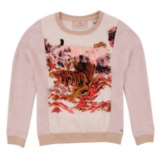 Sweat Tigre Genius Rose pâle