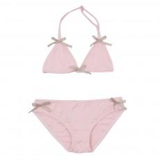Bikini Nœuds Dorés Rose pâle