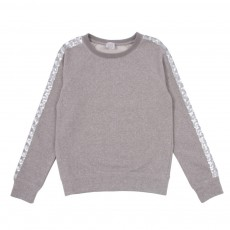 Sweat Sequins Soly Gris chiné