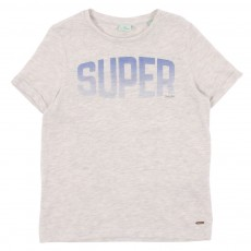 T-shirt Super Ecru chiné