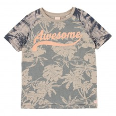 T-shirt Awesome Fleurs