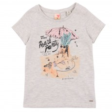 T-shirt Pearl Party Ecru