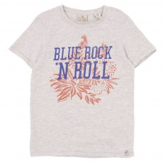 T-shirt Rock'n Roll Ecru