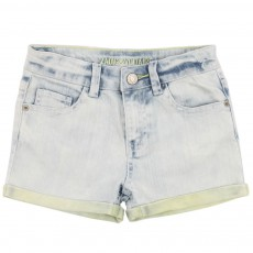 Short Jean Denim bleached