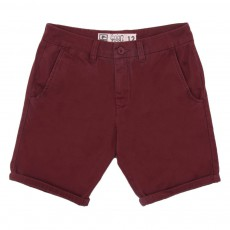 Short Chino Goodstock Bordeaux
