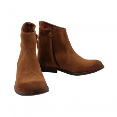 Bottines Chloé Camel