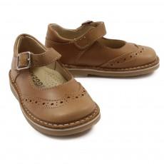 Chaussures à Boucles Camel