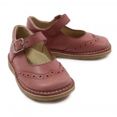 Chaussures à boucles Rose