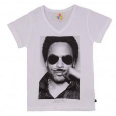 T-shirt Lenny Blanc