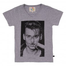 T-shirt Johnny Gris